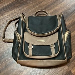 St. John's Bay Donna Backpack Purse Faux Leather